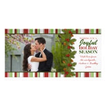 First Christmas Together Holiday Photo Card