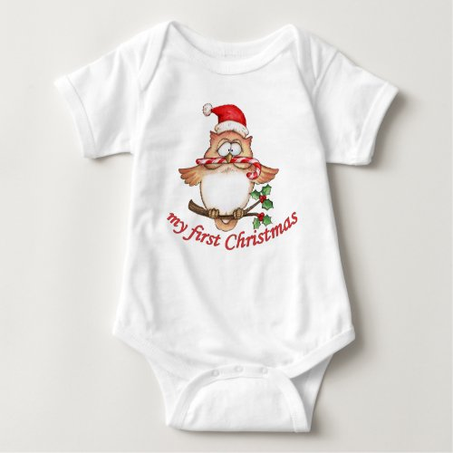 First Christmas Onesie from Zazzle