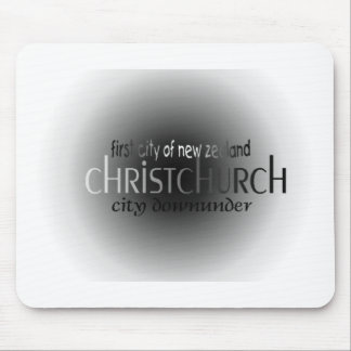 First City Christchurch Mouse Pad