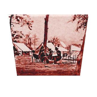FIRST CIVIL WAR PHOTOGRAPHER IN AMERICA - 1857 CANVAS PRINT