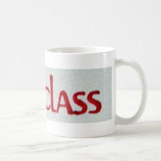 FIRST CLASS COFFEE MUG