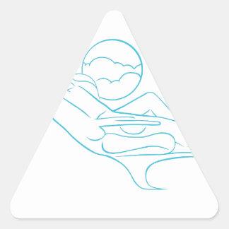First Class Passenger Triangle Sticker