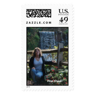 First Class~ Postage Stamp