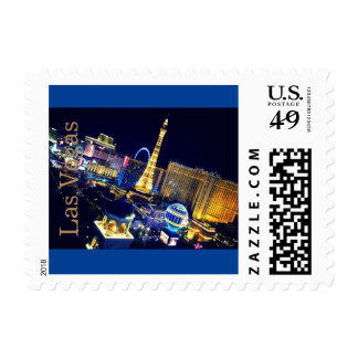 First Class Postage Stamp Las Vegas Nights