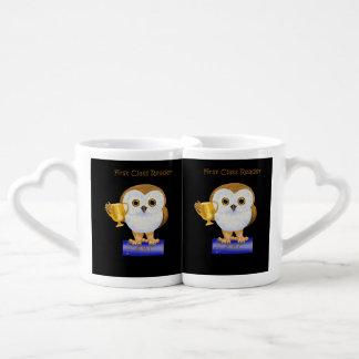 First Class Reader Couples Coffee Mug