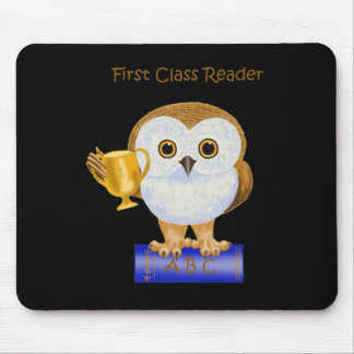 First Class Reader Mouse Pad