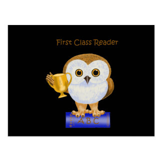First Class Reader Postcard