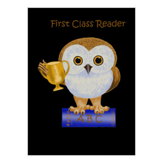 First Class Reader Posters