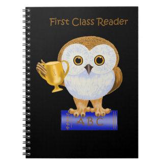 First Class Reader Spiral Note Book