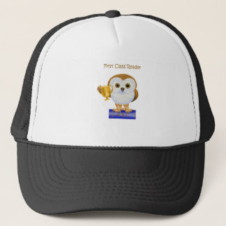 First Class Reader Trucker Hat
