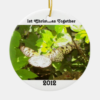 First Cmas Together Butterfly Ornament