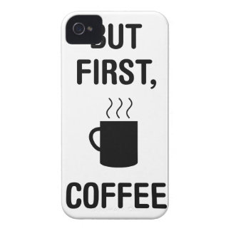 First Coffee iPhone 4 Case