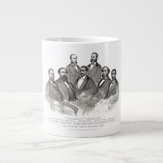 First Colored Senator and Representatives Giant Coffee Mug