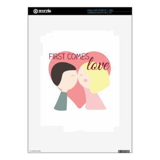 First Comes Love Skins For The iPad 2
