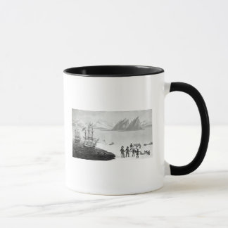 First communication with the natives of Prince Mug