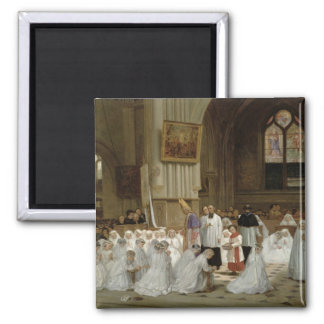 First Communion, 1867 Magnet