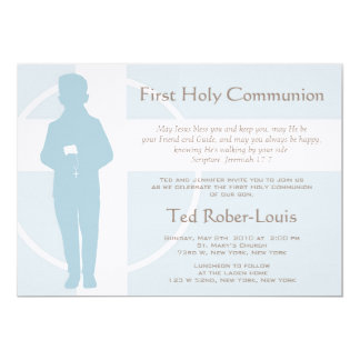 First Communion and Announcement - Boy
