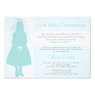 First Communion and Announcement - Girl