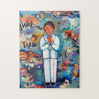 First Communion Boy Gift Puzzle
