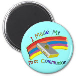 First Communion Day  T-Shirts & Gifts For Kids 2 Inch Round Magnet