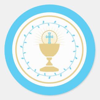 First Communion Envelope Seal or Favor Sticker