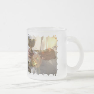 First Communion Frosted Mug