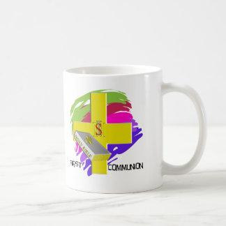 First Communion GOLD CROSS Design Classic White Coffee Mug