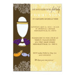"First Communion Invitation for Boys or Girls 5"" X 7"" Invitation Card"