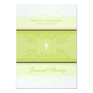 FIRST COMMUNION INVITES :: curls 3P