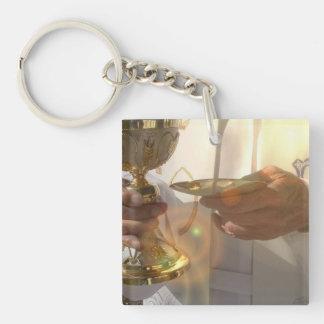 First Communion Keychain Acrylic Keychain