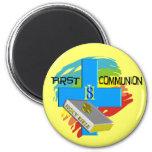 First Communion Kids T-Shirts & Gifts Fridge Magnets