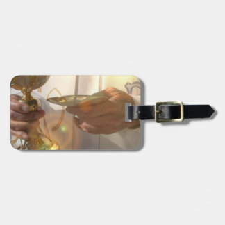 First Communion Luggage Tag