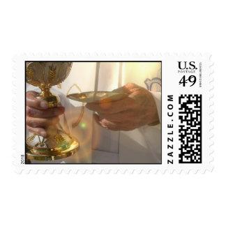 First Communion  Postage Stamp