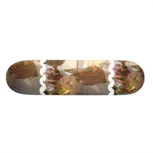 First Communion  Skateboard
