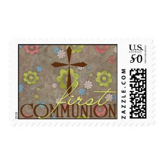 First Communion Stamp