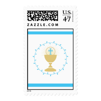 First Communion Stamps  |  Blue
