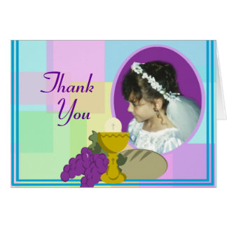 First Communion/ Thank You Card