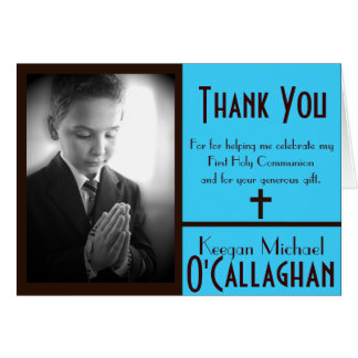 First Communion Thank You Cards | Zazzle