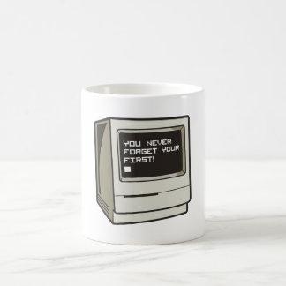 First Computer Retro Classic White Coffee Mug