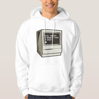 First Computer Retro Hoodie