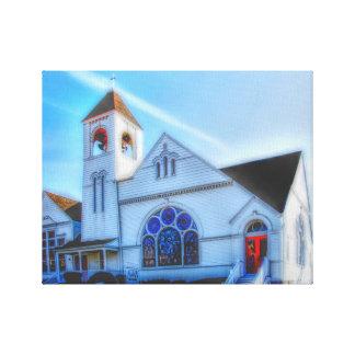 First Congregational Church Canvas Print