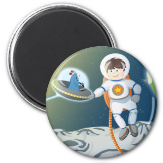 First contact 2 inch round magnet