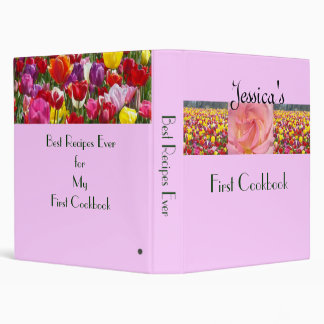 First Cookbook recipes binders Daughter s Name