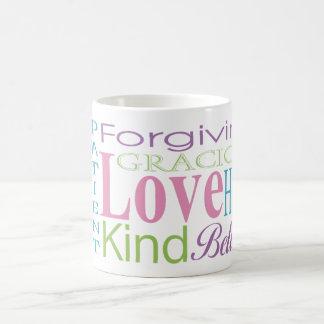 First Corinthians Love Words Christian Gift Mugs