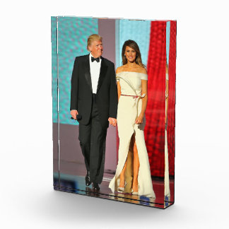 First Couple President Trump First Lady Melania Award