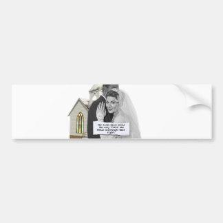 First Dance Bride Bumper Sticker