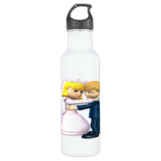 First Dance Stainless Steel Water Bottle