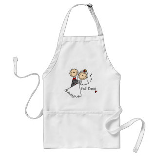 First Dance Wedding Tshirts and Gifts Adult Apron