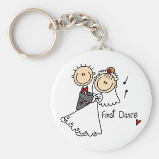 First Dance Wedding Tshirts and Gifts Key Chains