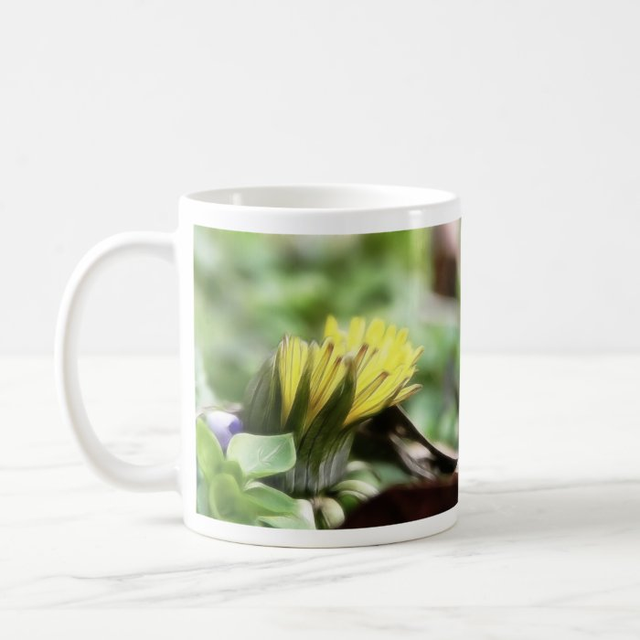 First Dandelion of the Season Coffee Mug